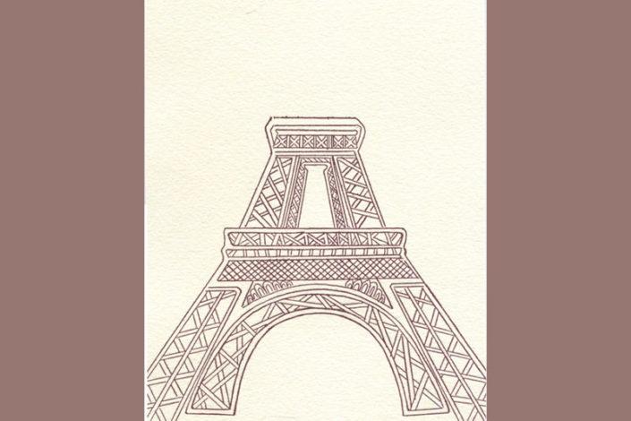 La Tour Eiffel Livre Gaelle Pelachaud