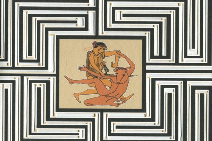 Le mythe du Minotaure Livre Gaelle Pelachaud