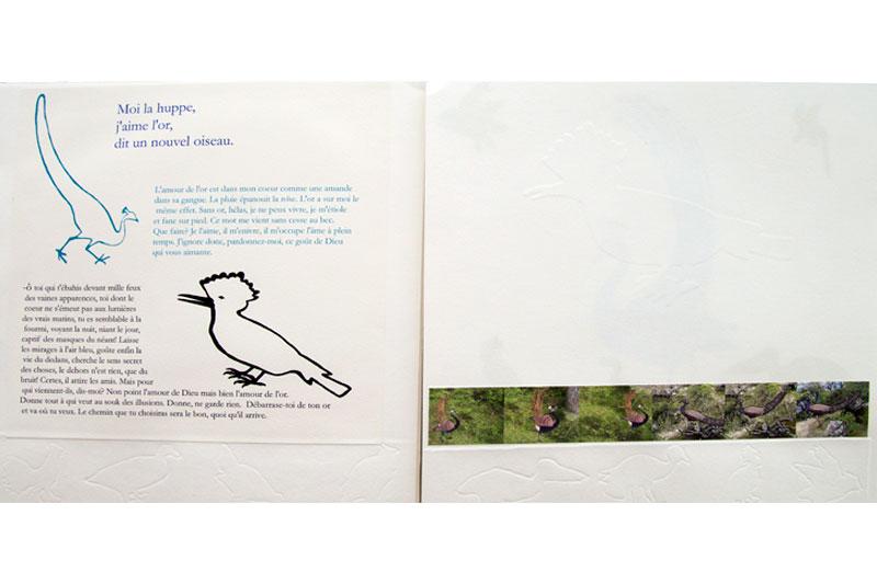 La conférence des oiseaux Livre Gaelle Pelachaud
