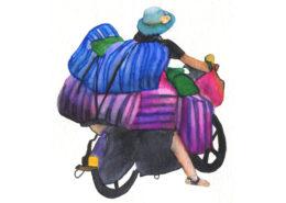 Chine Aquarelle Gaelle Pelachaud
