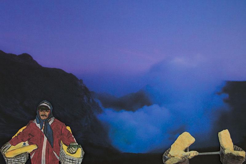 Indonesie Dessin-Photo Gaelle Pelachaud