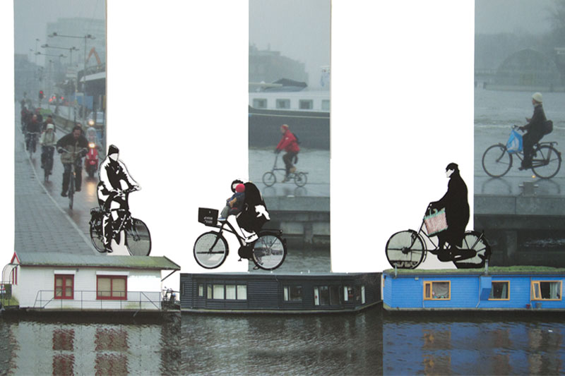 Amsterdam Dessin-Photo Gaelle Pelachaud