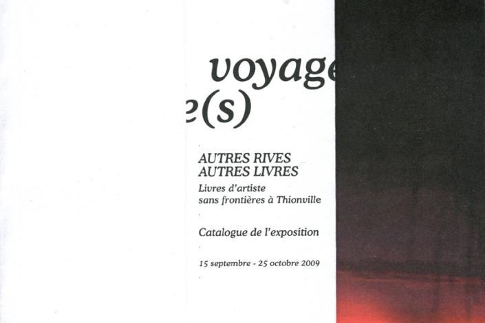 Livre d'artiste Livre-Voyage - Gaelle Pelachaud