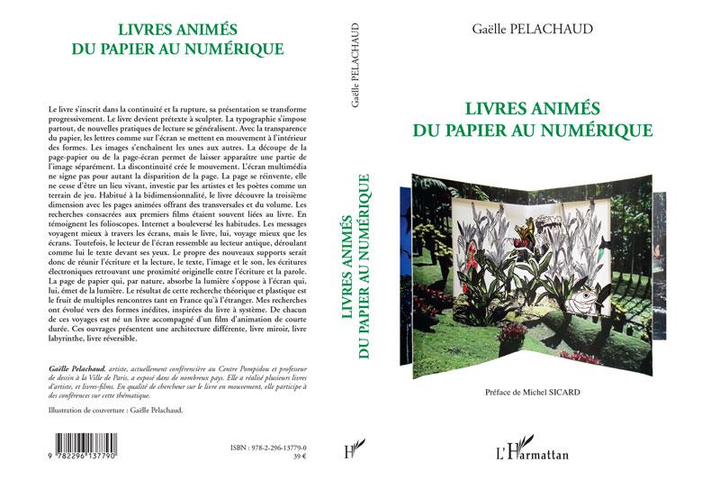 Livres animés, du papier au numérique, L'Harmattan, 2011