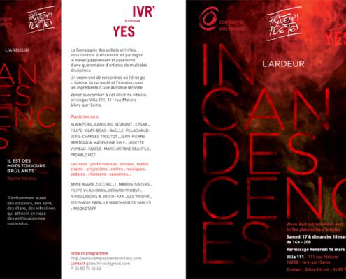 Gaelle Pelachaud, Incandescences - L'ardeur, Le printemps des poètes, Ivry