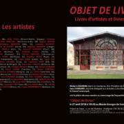 Gaelle Pelachaud, « Objet de Livres » Musée Georges de Sonneville