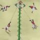 Voladores de Papantla-Mexique- Aquarelle-Gaëlle Pelachaud